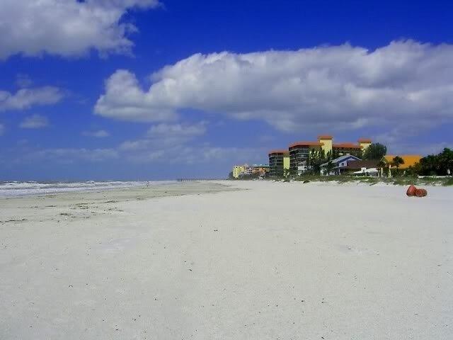 Purple Beach by Mary Jane Harmless