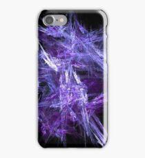 Purple Ice Crystals iPhone Case/Skin