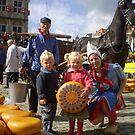 Gouda, Cheese Market. by hanslittel