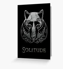 Solitude Greeting Card
