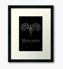 Markarth Framed Print