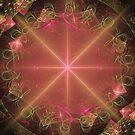 Magic Pink Clock by pjwuebker