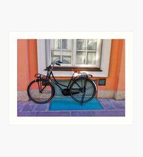 Commuter Bike - Italy Art Print