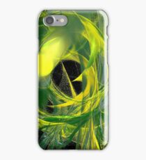 Glowworm Abstract iPhone Case/Skin