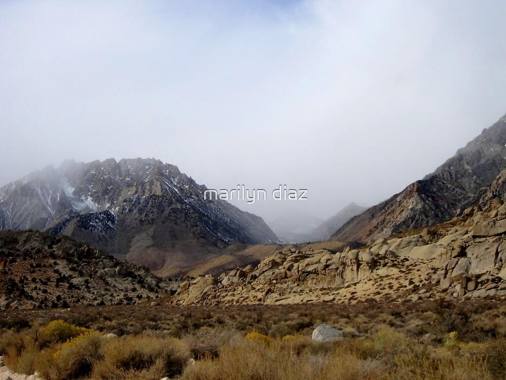 Autumn Storm In The Sierras by marilyn diaz