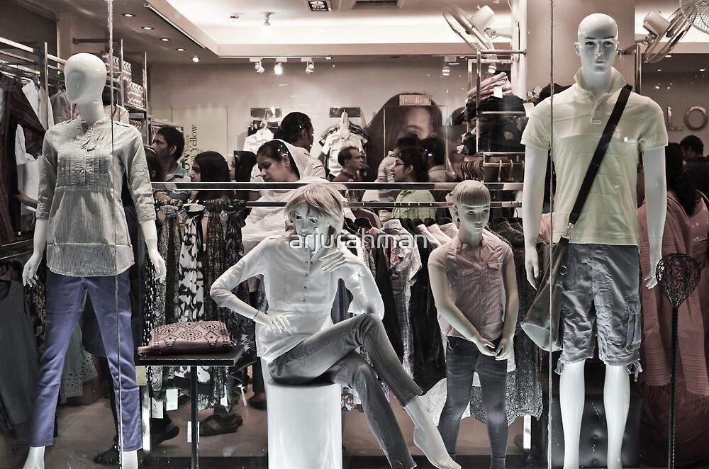 waiting for window shopper by arjurahman