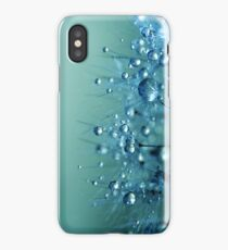 Blue Shower iPhone Case