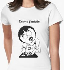 Creme Fraiche South park Women's Fitted T-Shirt