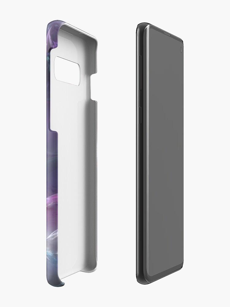 Alternate view of Burgundy Rose Case & Skin for Samsung Galaxy