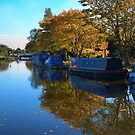 Canal Reflections by Paul Gibbons