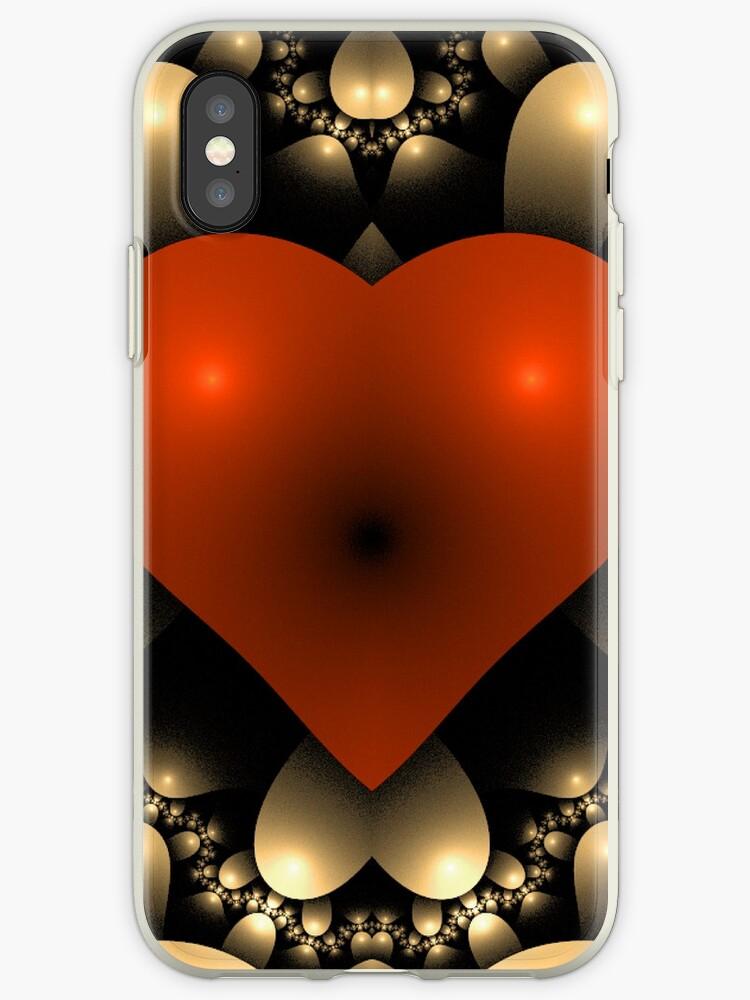 3D Red Heart by pjwuebker