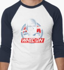 Vote Whedon  Men's Baseball ¾ T-Shirt