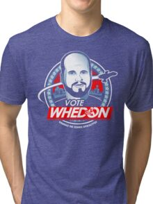 Vote Whedon  Tri-blend T-Shirt