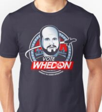 Vote Whedon  Unisex T-Shirt