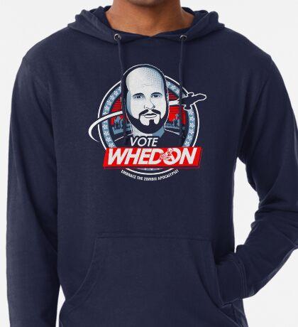 Vote Whedon Sudadera con capucha ligera