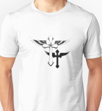 Crucifix Flying T Shirt T-Shirt