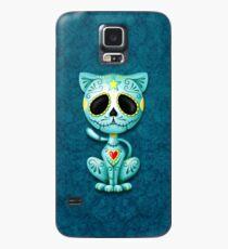 Blue Zombie Sugar Kitten Cat Case/Skin for Samsung Galaxy