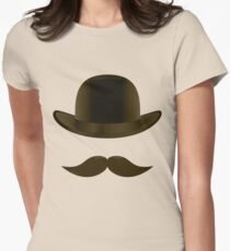 Supporting Movember Womens Fitted T-Shirt