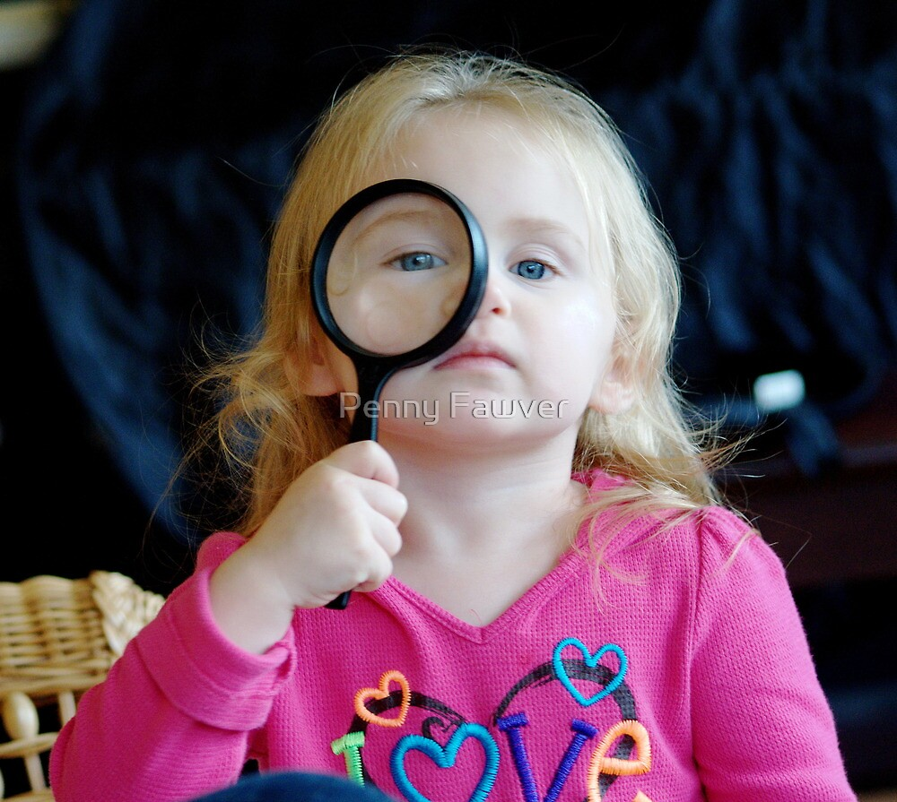 I Spy by Penny Fawver