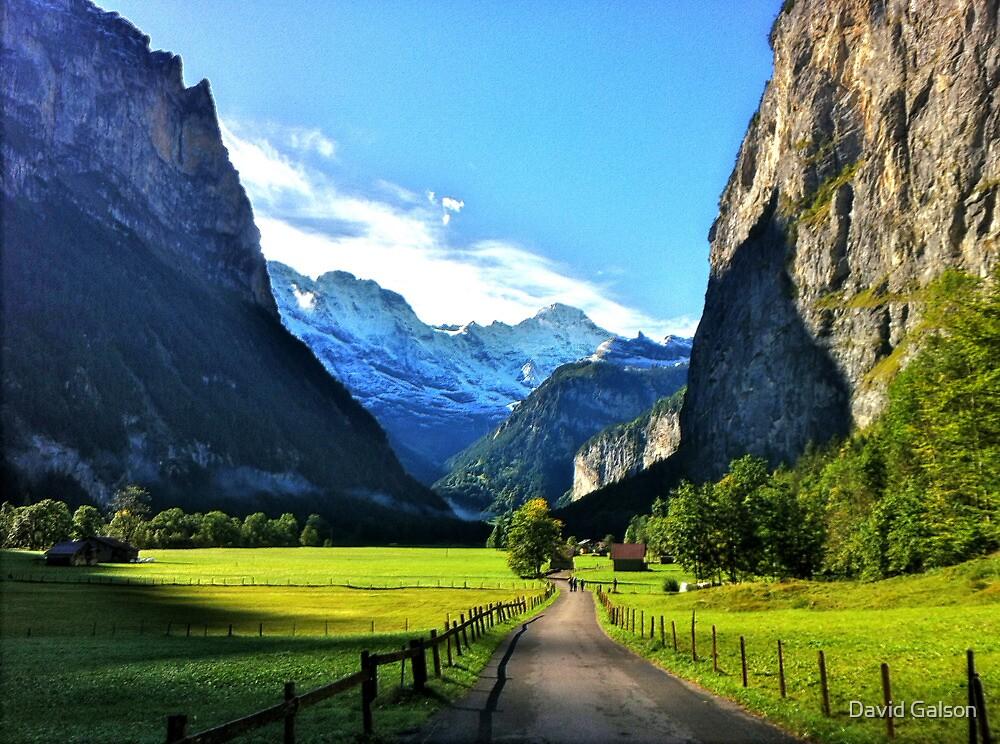 Luterbrunen Valley, Switzerland by David Galson