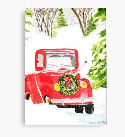 Home For Christmas Canvas Print