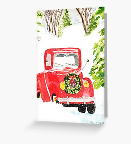 Home For Christmas Greeting Card