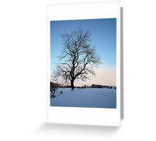 Snowy Wharfedale Greeting Card