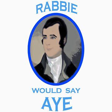 Rabbie Burns Scottish Independence T-Shirt by simpsonvisuals