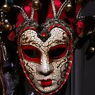 Mask in Venice, Italy by David Galson