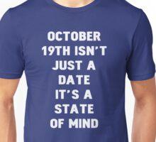 October 19th Unisex T-Shirt