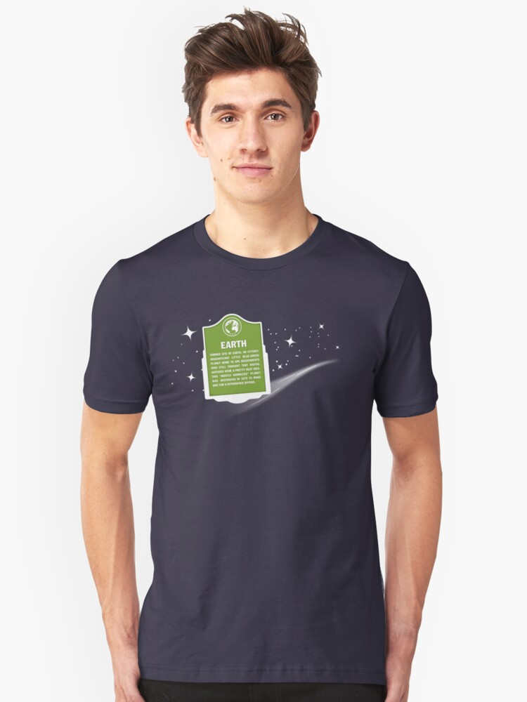 Earth Was Here Unisex T-Shirt Front