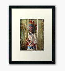 Chief Framed Print