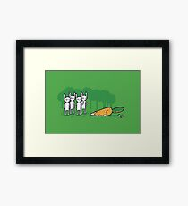 A clever disguise Framed Print