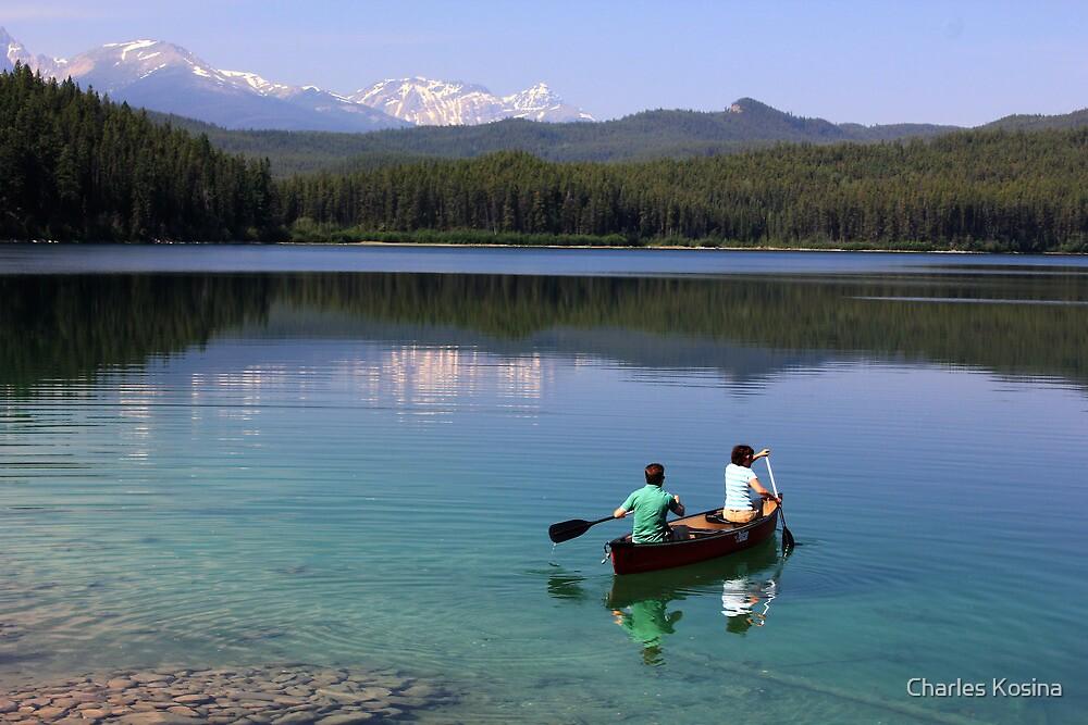 On Patricia Lake by Charles Kosina