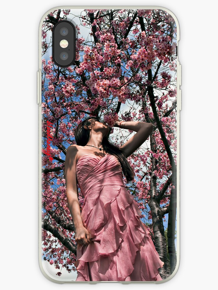 """the cherry blossom girl"" - iphone 4 & iphone 4s & iphone 5 case by harun mehmedinovic"