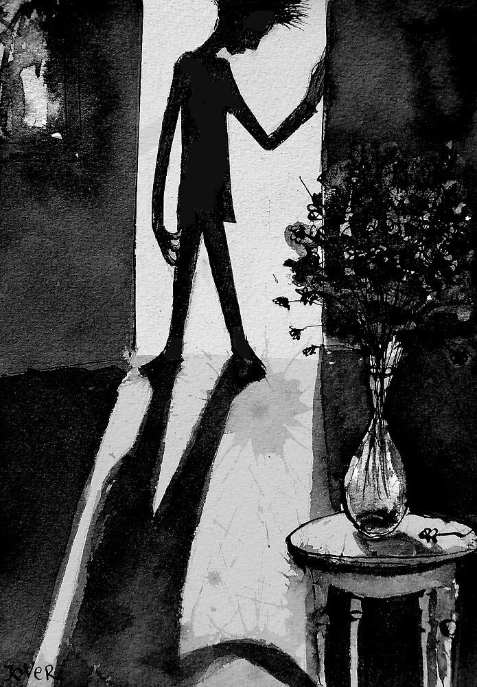 the dark bouquet by Loui  Jover