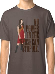 River Tam - No Power In The 'Verse Can Stop Me Classic T-Shirt