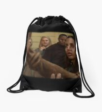 Echo blind Drawstring Bag