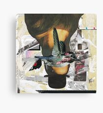 Woman in a Bowler Hat Canvas Print