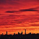 New York City Dusk  by Alberto  DeJesus