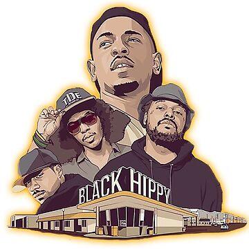 Black Hippy design  by Jetblackbob