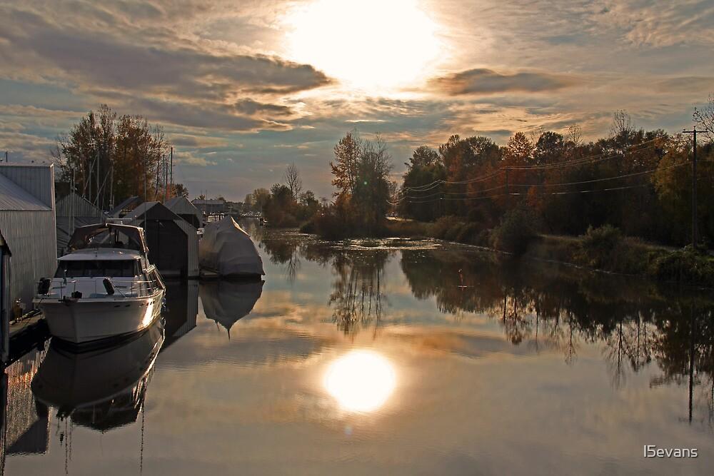 Marina Sunset by l5evans