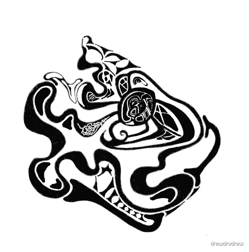 Celtic Jaguar by drewdrudrew