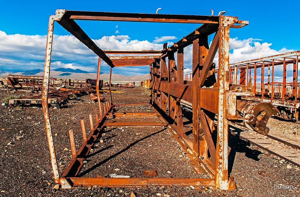 Train Cemetery2. by bulljup