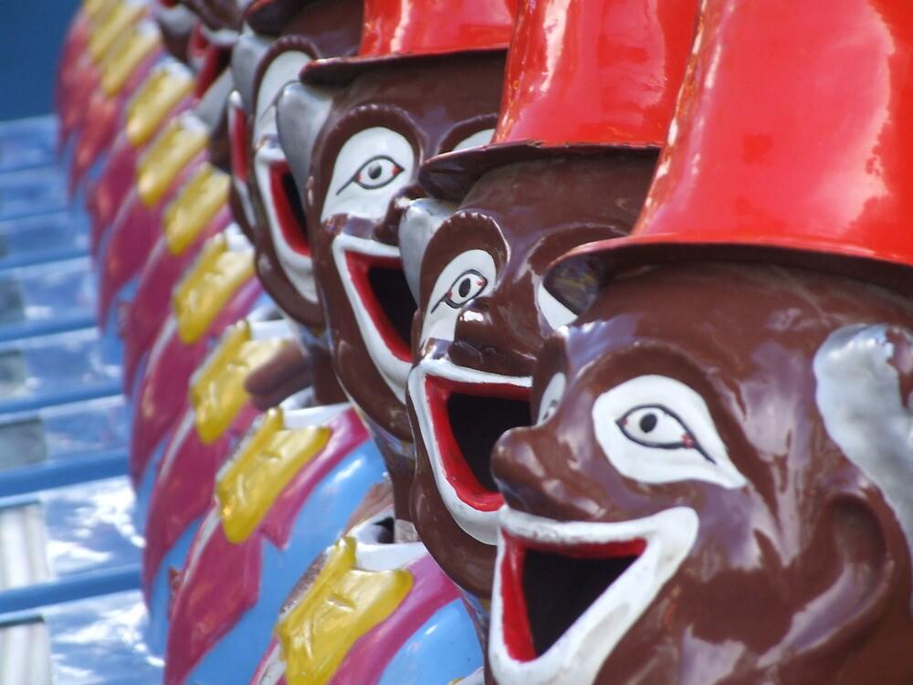 Carnival Men - Willunga Almond Blossom Festival by BreeDanielle