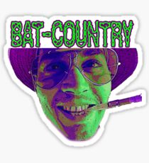 This Is Bat Country Sticker