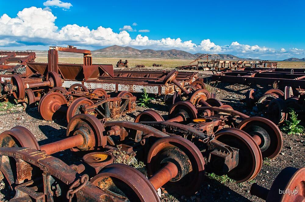 Train Cemetery3.  by bulljup