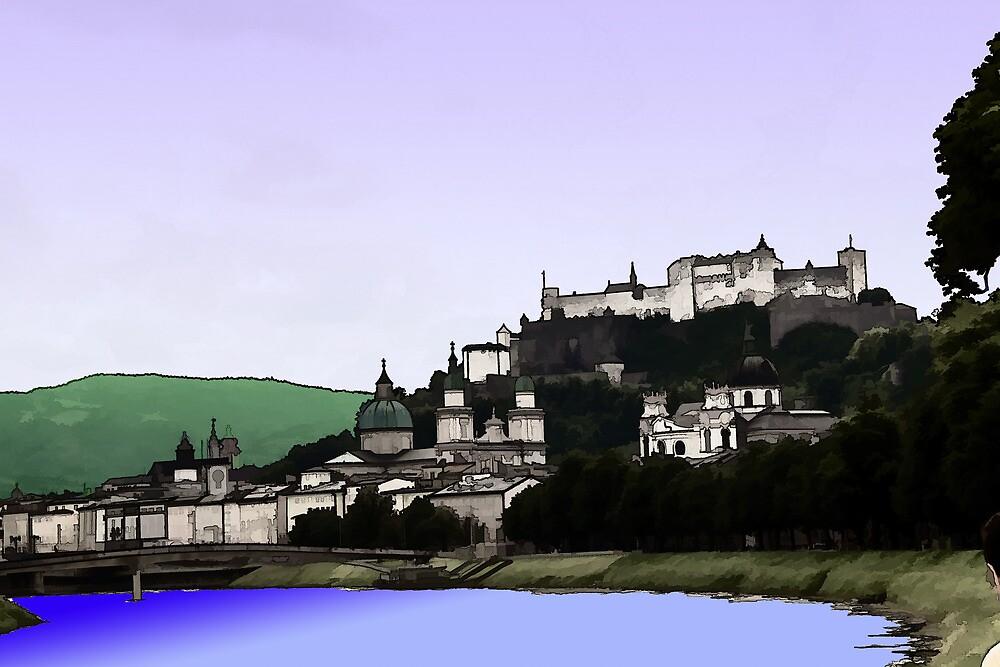 Salzburg by adinaborchardt