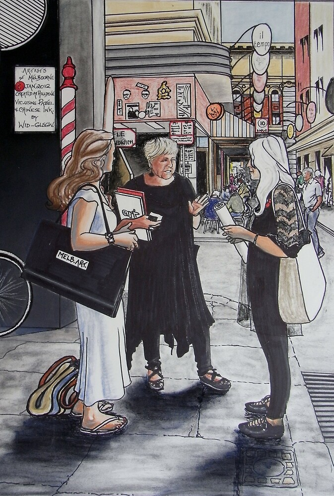 The Artists of Melbourne by widdy