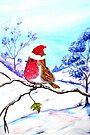 Christmas Bird by Linda Callaghan